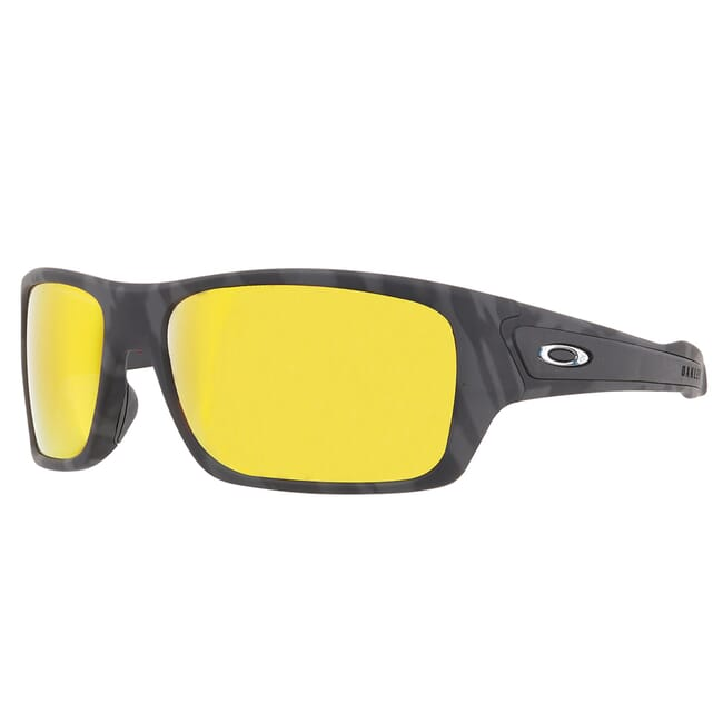 Oakley Turbine Black Camo w/PRIZM Ruby Lenses OO9263-5363