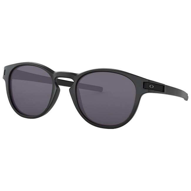 Oakley Latch Matte Black w/Grey Lenses OO9265-01