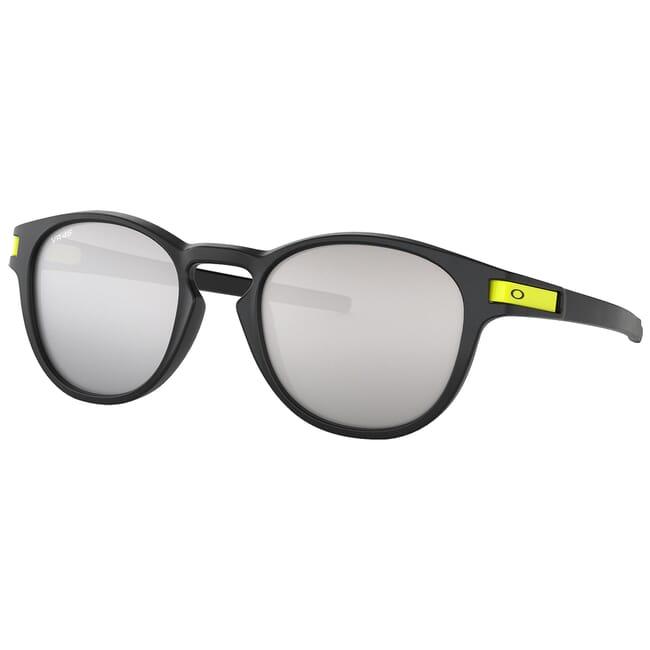 Oakley Latch Valentino Rossi Matte Black w/Chrome Iridium Lenses OO9265-2153