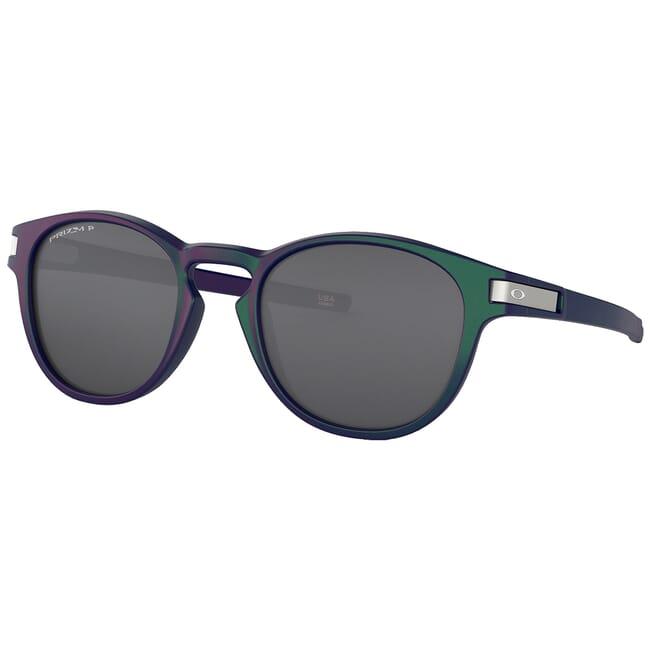 Oakley Latch Green/Purple Shift w/PRIZM Black Polarized Lenses OO9265-5153