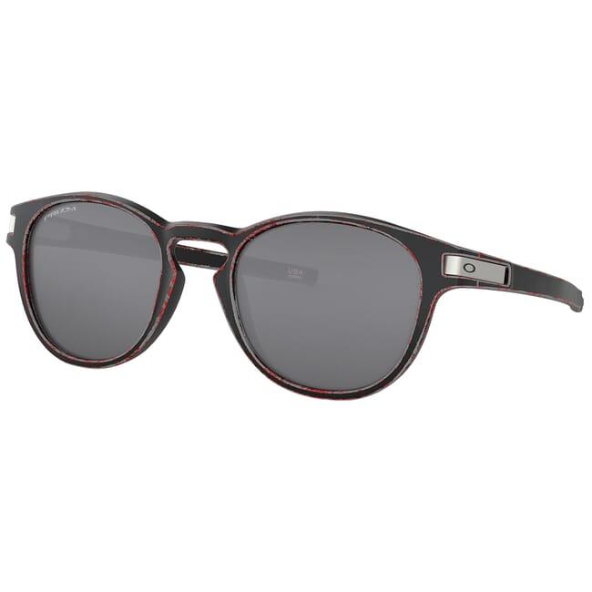 Oakley Latch Race Worn Red w/PRIZM Black Lenses OO9265-5353