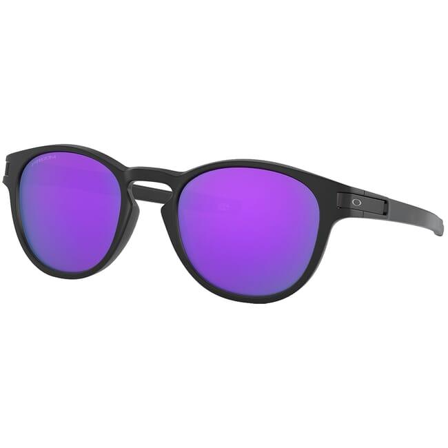 Oakley Latch Matte Black w/PRIZM Violet Lenses OO9265-5553