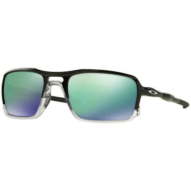 Oakley Triggerman Polished Black w/Jade Iridium Lenses OO9266-02