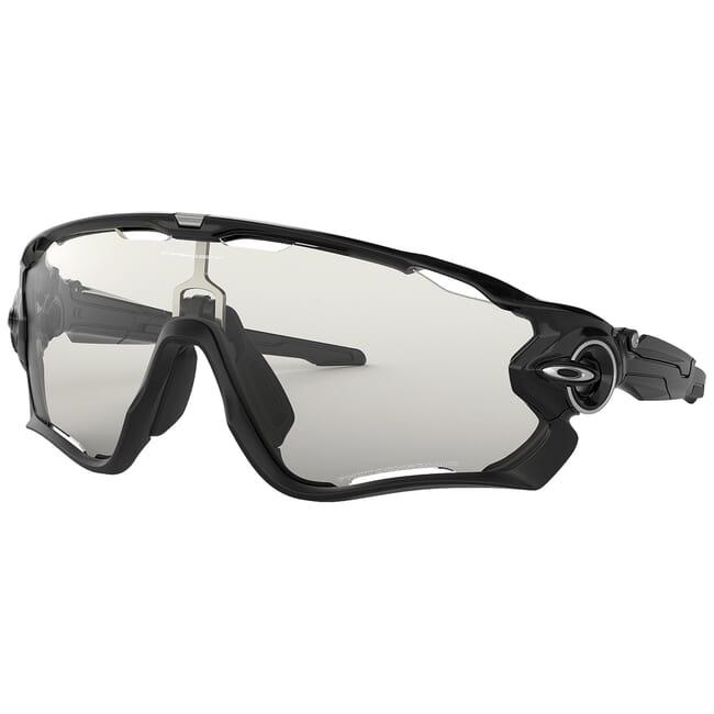 Oakley Jawbreaker Polished Black w/Clear to Black Photochromic Lenses OO9290-14