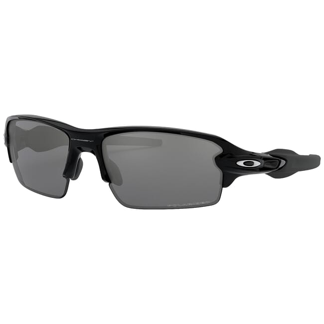 Oakley Flak 20 Polished Black w/Black Iridium Polarized Lenses OO9295-07