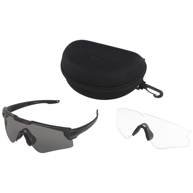 Oakley SI Ballistic M Frame ALPHA Black w/Clear and Grey Lens Array OO9296-05