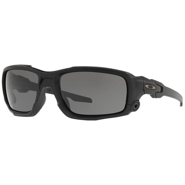 Oakley SI Ballistic Shocktube Matte Black w/Grey Lenses OO9329-01