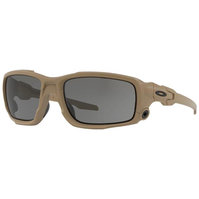 Oakley SI Ballistic Shocktube Tan w/Grey Lenses OO9329-04