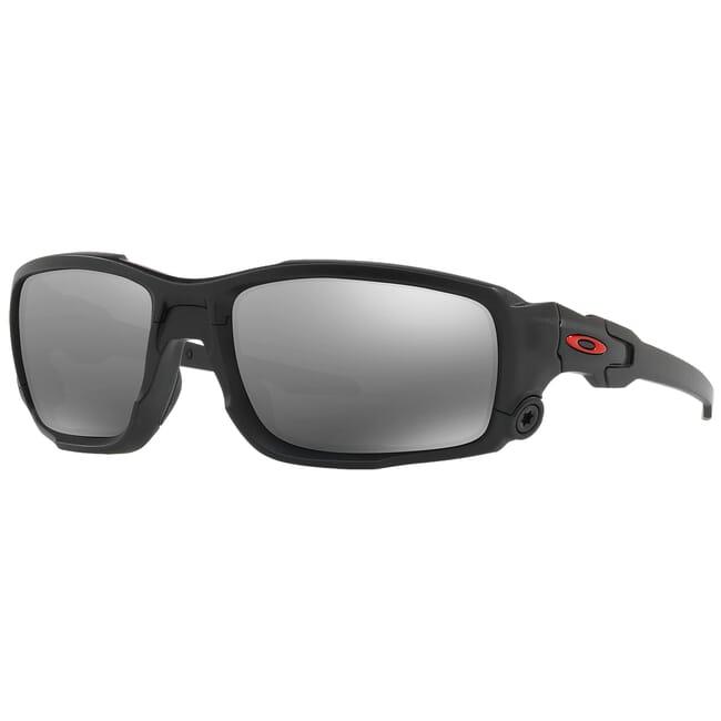 Oakley SI Ballistic Shocktube Matte Black w/Black Iridium Lenses OO9329-05