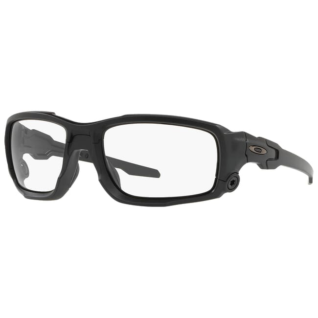 Oakley SI Ballistic Shocktube Matte Black w/Clear and Grey Lens Array OO9329-1061