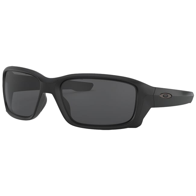 Oakley Straightlink Matte Black w/Grey Lenses OO9331-02