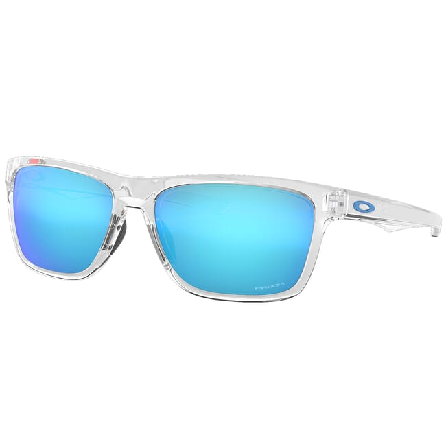 Oakley Holston Polished Clear w/PRIZM Sapphire Lenses OO9334-1358