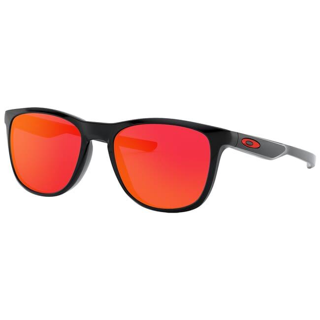 Oakley Trillbe X Polished Black w/Ruby Iridium Lenses OO9340-02