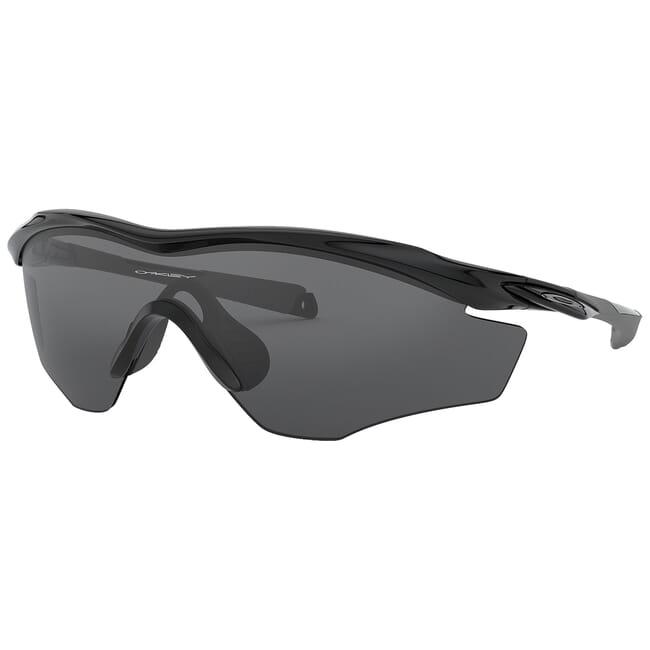Oakley M2 Frame XL Polished Black w/Grey Lenses OO9343-01