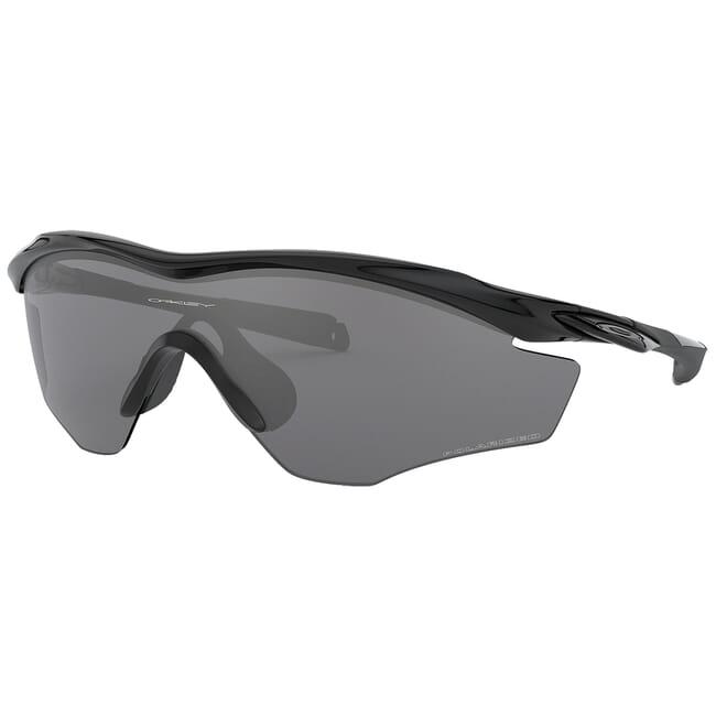 Oakley M2 Frame XL Polished Black w/Black Iridium Polarized Lenses OO9343-09