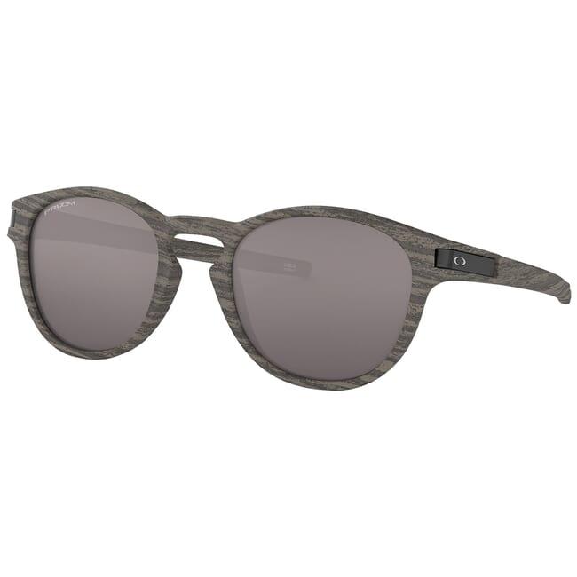 Oakley Latch (A) Woodgrain w/PRIZM Black Lenses OO9349-3253