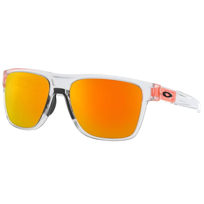 Oakley Crossrange XL Crystal Pop w/Fire Iridium Lenses OO9360-1858