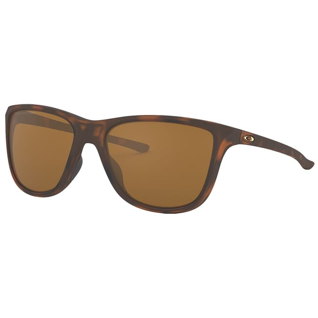 Oakley Reverie Matte Brown Tortoise w/Tungsten Iridium Polished Lenses OO9362-0555