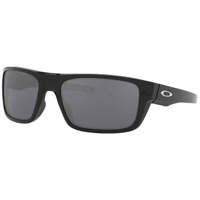 Oakley Drop Point Polished Black w/Black Iridium Lenses OO9367-0260