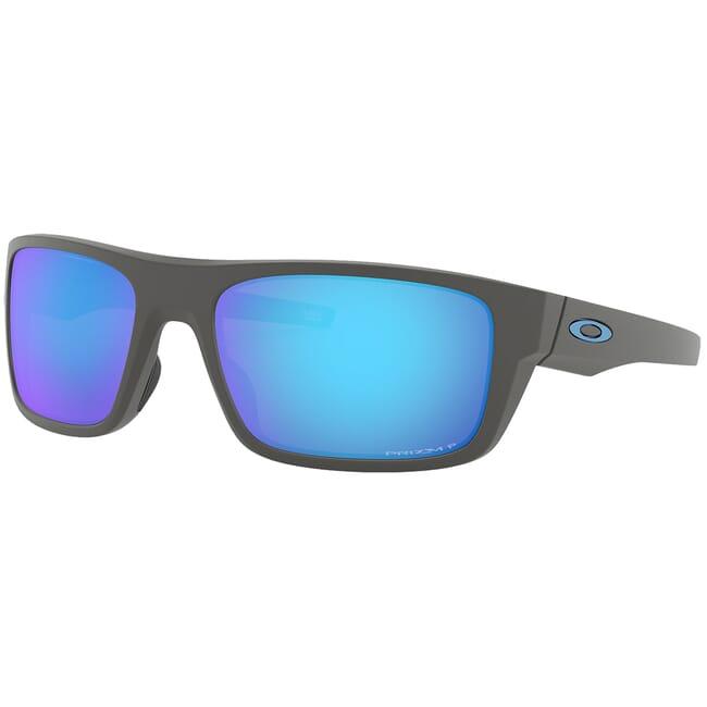 Oakley Drop Point Matte Dark Gray w/PRIZM Sapphire Polarized Lenses OO9367-0660