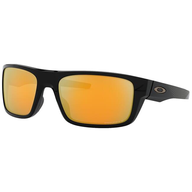 Oakley Drop Point Midnight Polished Black w/PRIZM 24k Polarized Lenses OO9367-2160