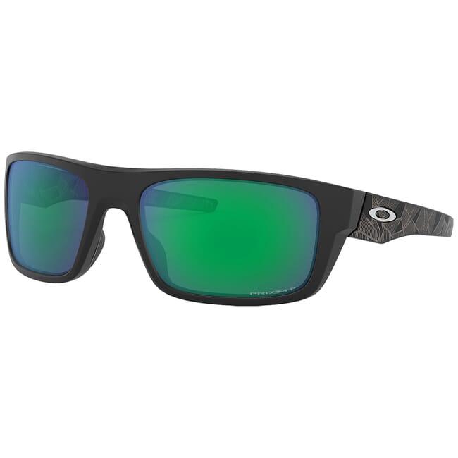 Oakley Drop Point Matte Black Prizmatic w/PRIZM Jade Polarized Lenses OO9367-2260