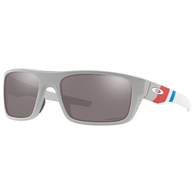 Oakley SI Drop Point Armed Forces Coast Guard Matte Cool Grey w/PRIZM Black Lenses OO9367-2560