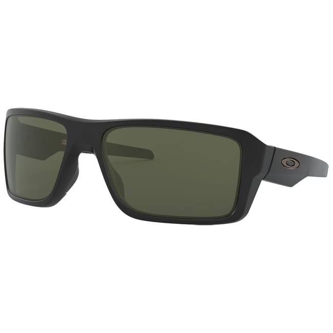 Oakley Double Edge Matte Black w/Dark Grey Lenses OO9380-0166