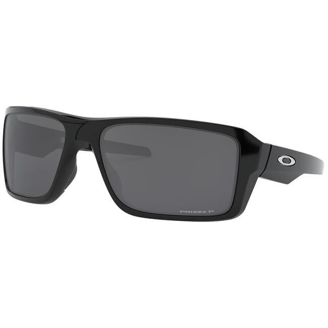 Oakley Double Edge Polished Black w/PRIZM Black Polarized Lenses OO9380-0866