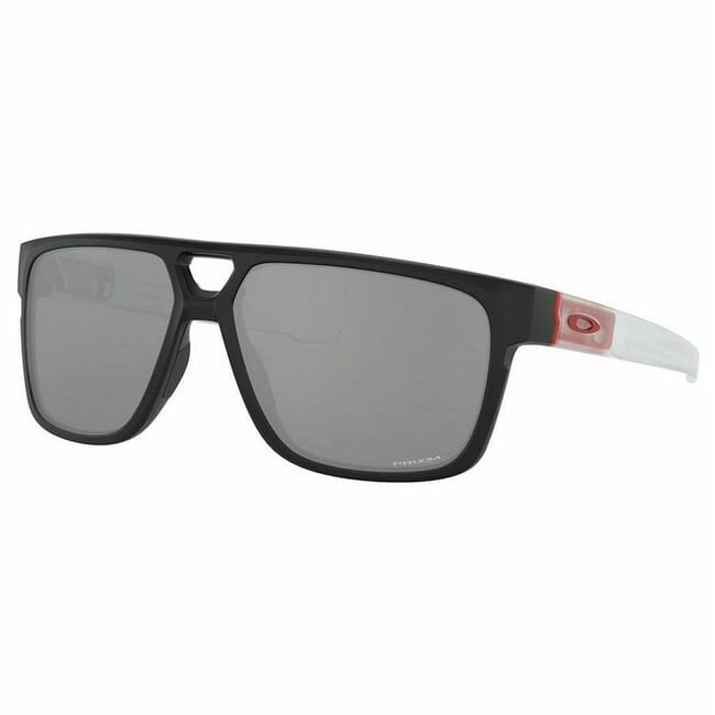 Oakley Crossrange Patch Matte Black and Redline w/PRIZM Black Lenses OO9382-1860