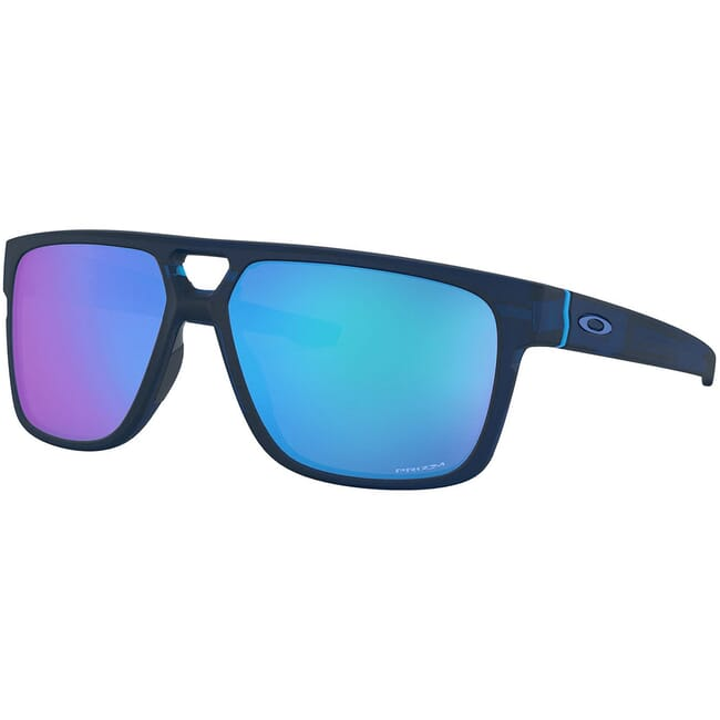 Oakley Crossrange Patch Matte Translucent Blue w/PRIZM Sapphire Lenses OO9382-2260
