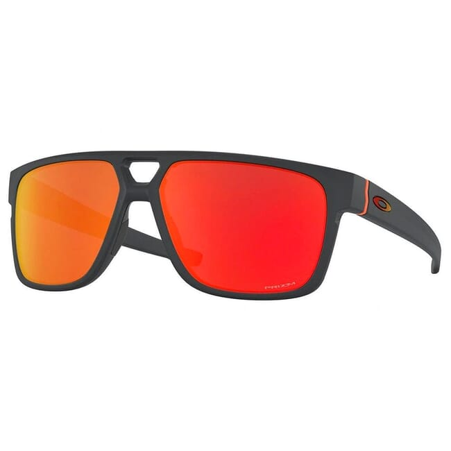 Oakley Crossrange Patch Matte Carbon w/PRIZM Ruby Lenses OO9382-2860