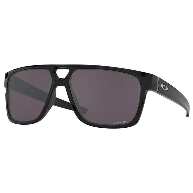 Oakley Crossrange Patch Polished Black w/PRIZM Grey Lenses OO9382-2960