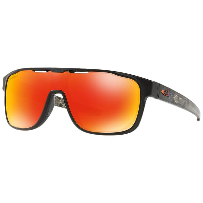 Oakley Crossrange Shield Matte Black Prizmatic w/PRIZM Ruby  Lenses OO9387-0931