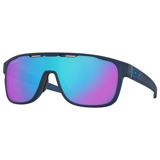 Oakley Crossrange Shield Matte Translucent Blue w/PRIZM Sapphire Lenses OO9387-1431