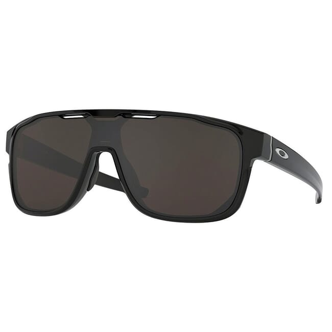 Oakley Crossrange Shield Polished Black w/PRIZM Grey Lenses OO9387-1631