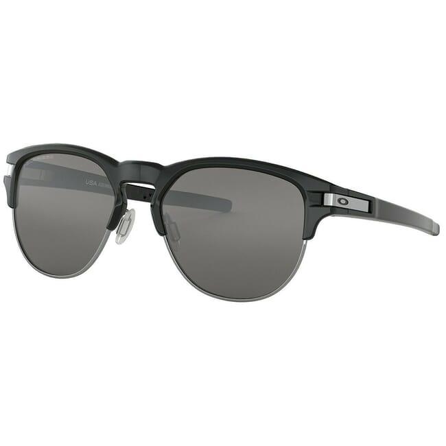 Oakley Latch Key L Polished Black w/Black Iridium Polarized Lenses OO9394-0655
