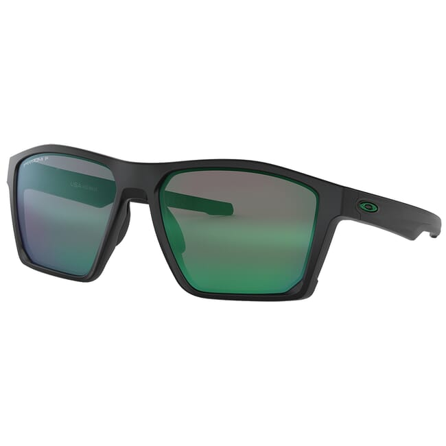 Oakley Targetline Matte Black w/PRIZM Jade Polarized Lenses OO9397-0758