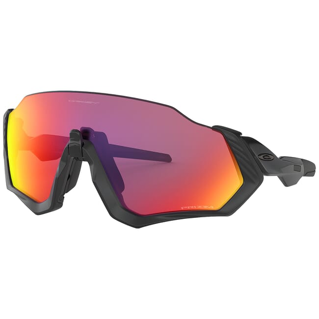 Oakley Flight Jacket Matte Black w/PRIZM Road Lenses OO9401-0137