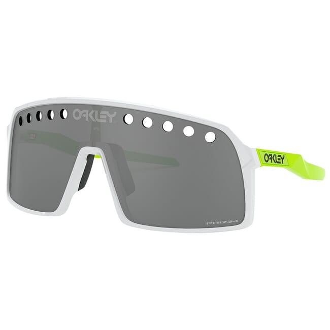 Oakley Sutro Vent Polished White w/PRIZM Black Lenses OO9406-1337