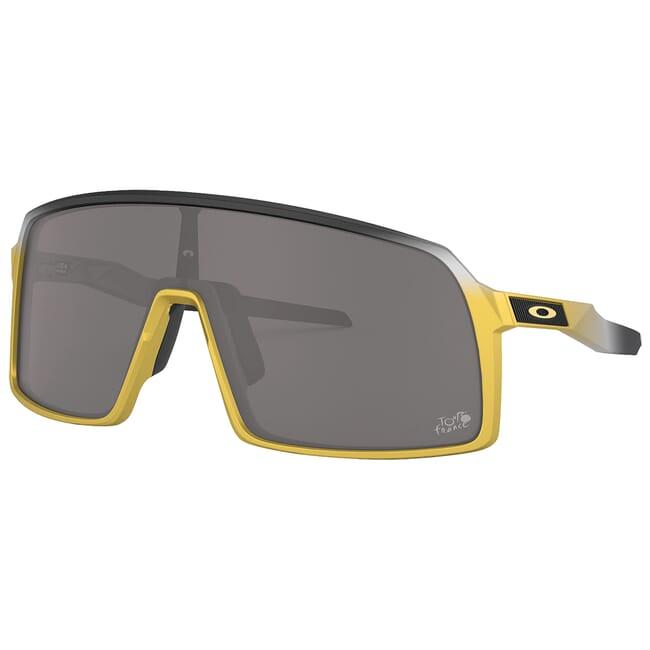 Oakley Sutro Tour de France Trifecta Fade w/PRIZM Black Lenses OO9406-1837