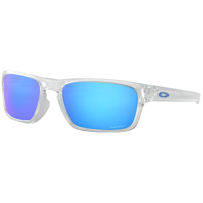 Oakley Sliver Stealth Matte Clear w/PRIZM Sapphire Lenses OO9408-0456