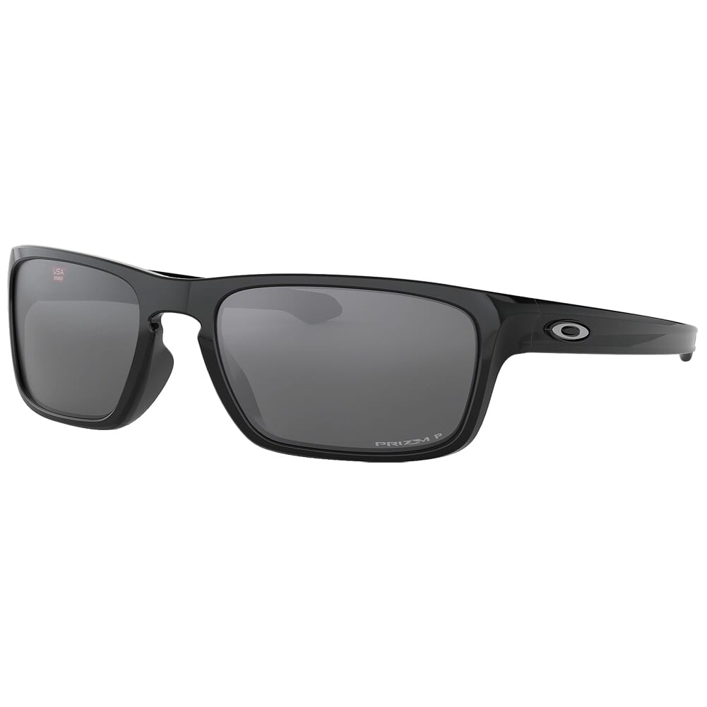Oakley Sliver Stealth Polished Black w/PRIZM Black Polarized Lenses OO9408-0556