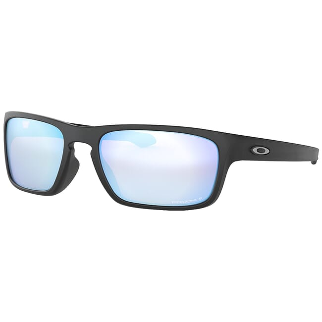 Oakley Sliver Stealth Matte Black w/PRIZM Deep Water Polarized Lenses OO9408-0756