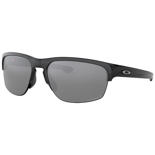 Oakley Sliver Edge Polished Black w/PRIZM Black Polarized Lenses OO9413-0465