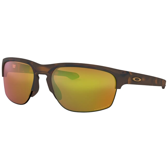 Oakley Sliver Edge Matte Brown Tortoise w/PRIZM Shallow Water Polarized Lenses OO9413-0565