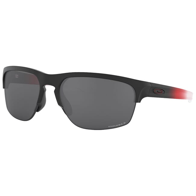 Oakley Sliver Edge Ignite Red Fade w/PRIZM Black Polarized Lenses OO9413-1365