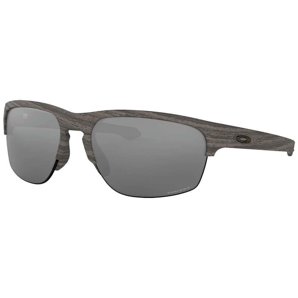 Oakley Sliver Edge (A) Woodgrain w/PRIZM Black Lenses OO9414-0863
