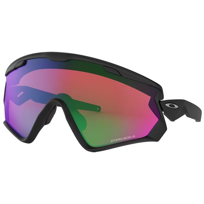 Oakley Windjacket 2.0 Matte Black w/PRIZM Snow Jade Lenses OO9418-0145