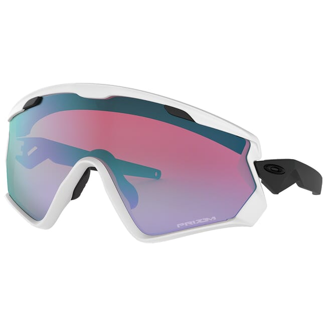 Oakley Windjacket 2.0 Matte White w/PRIZM Snow Sapphire Lenses OO9418-0345